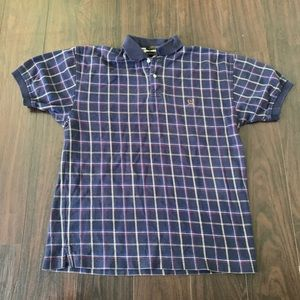 Tommy Hilfiger Plaid Checkered Multi Colored Polo